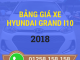 bang gia xe hyundai i10 moi nhat