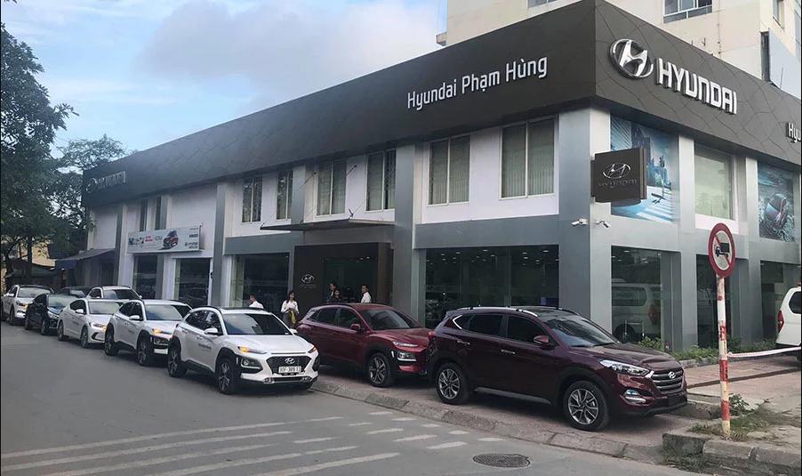 công ty cổ phần ô tô hyundai phạm hùng