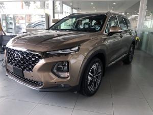 Hyundai santafe máy dầu bản cao cấp 2019